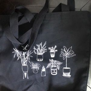 The Sill houseplants tote, black